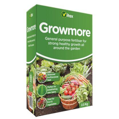 vitax growmore fertiliser 2.5kg