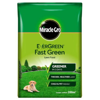 Miracle-Gro evergreen fast green lawn food